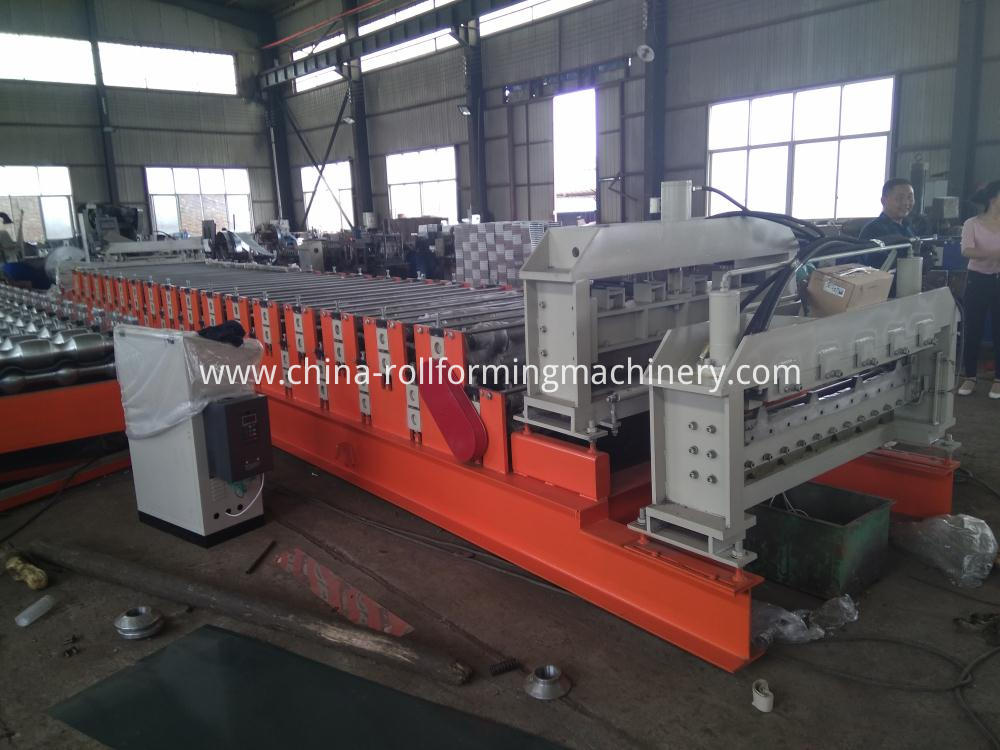 Doubel Layer Roll Forming Machine