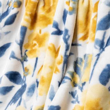 Моющееся сенсорное фланелевое одеяло
