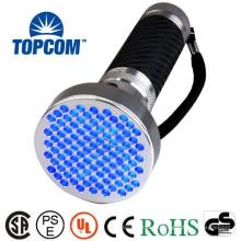 Linterna UV profesional de aluminio