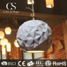 Оптовая белый подвесной потолочный светильник в форме шара