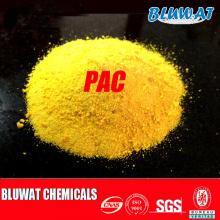 Tratamiento de aguas residuales de papel PAC Poly Aluminum Chloride