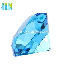 Aquamarine cristal diamante corte cristal jóias presentes de casamento do Oriente Médio