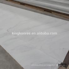 revestimento de chuveiro em mármore de cultura de baixa manutenção não poroso