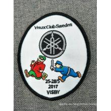 Parches bordados de poliéster uniformes personalizados