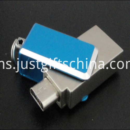 Promotional kirsite Mini Cellphone USB Flash Drives