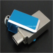 Promocional de zinco liga celular Mini USB Flash Drives