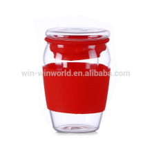 Healthful Ware Personal Perfect Office Glass Tea Cup With Strainer/Filter/Infuser