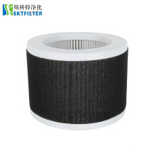 3m Filtrete Round Disk Hepa Filter and Carbon Compatible with KOIOS and Mooka EPI810 Air Purifiers