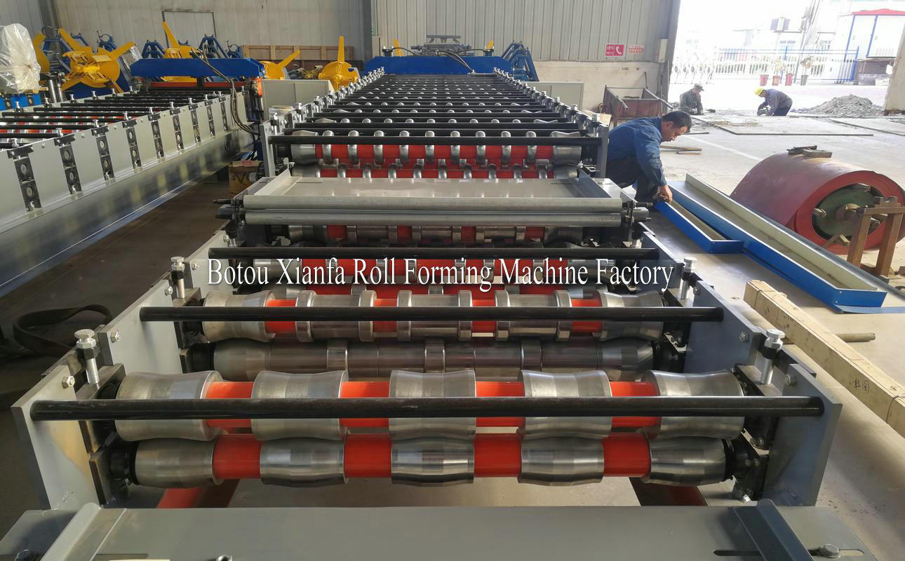 wave IBR roll forming machine