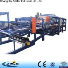 Rockwool sandwich panel roll forming machine/ Rockwool sandwich panel production line made in shanghai