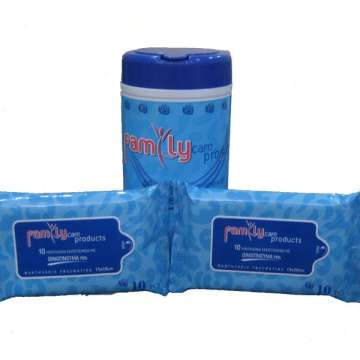 OEM Antibakterielles Adult Baby Flushable Wet Wipe