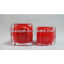 15ml 30ml 50ml Luxury Square Cream Cosmetic Jar Packaging