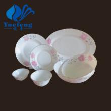 Heat Resistant Opal Glassware-28PCS Dinner Set
