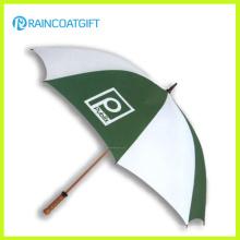 Parapluie de promotion d'arbre en bois de 23inch * 8k