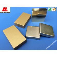 Permanent NdFeB Neodymium Magnet with Au Coating
