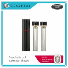 RONDO WB Twist and Spray Bouteille de parfum remplaçable noir brillant de 20 ml