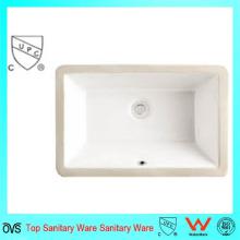 India Popular lavamanos de baño Undermount y lavabo de cerámica