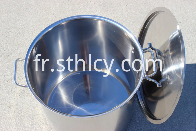 cooking stainless steel pail with cover