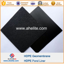 Texturizado superfície HDPE Geomembranas Liners