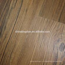 Handscraped винила lvt-покрытие пола PVC этаж