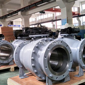 "16 ""300LB WCB Trunnion Mounted Kugelhahn"