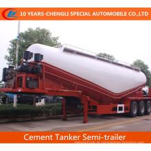3 semi-reboque do petroleiro do cimento dos eixos 35cbm