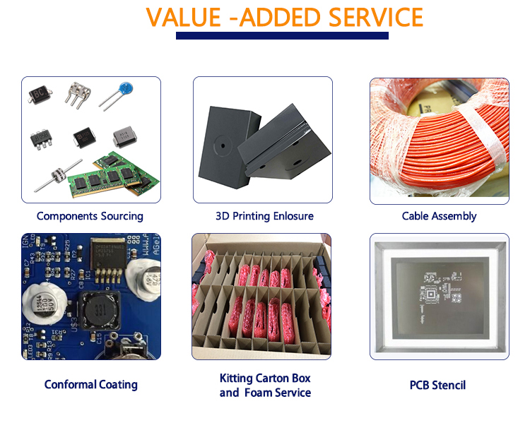High quality PCB and Printed Circuit board assemblies with 24 years professional experience