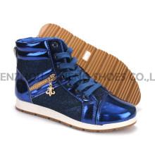 Chaussures pour femmes Loisirs PU Chaussures avec Semelle extérieure en corde Snc-55014