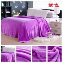 Profesional Fabricante de Flanela Cobertor de Lã