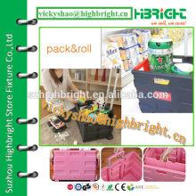 aluminum alloy handlepack and roll cart