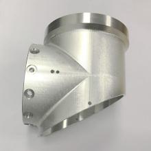Joint fait sur commande en aluminium de té de usinage de commande numérique par ordinateur