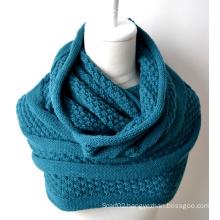 Acrylic Knitted Shawl (12-BR201812-1)