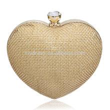 Золотым бисером дамы ужин мешок муфты невесты мешок для Свадебные вечерние использовать для новобрачных сумки B00031 дешевые сумки онлайн