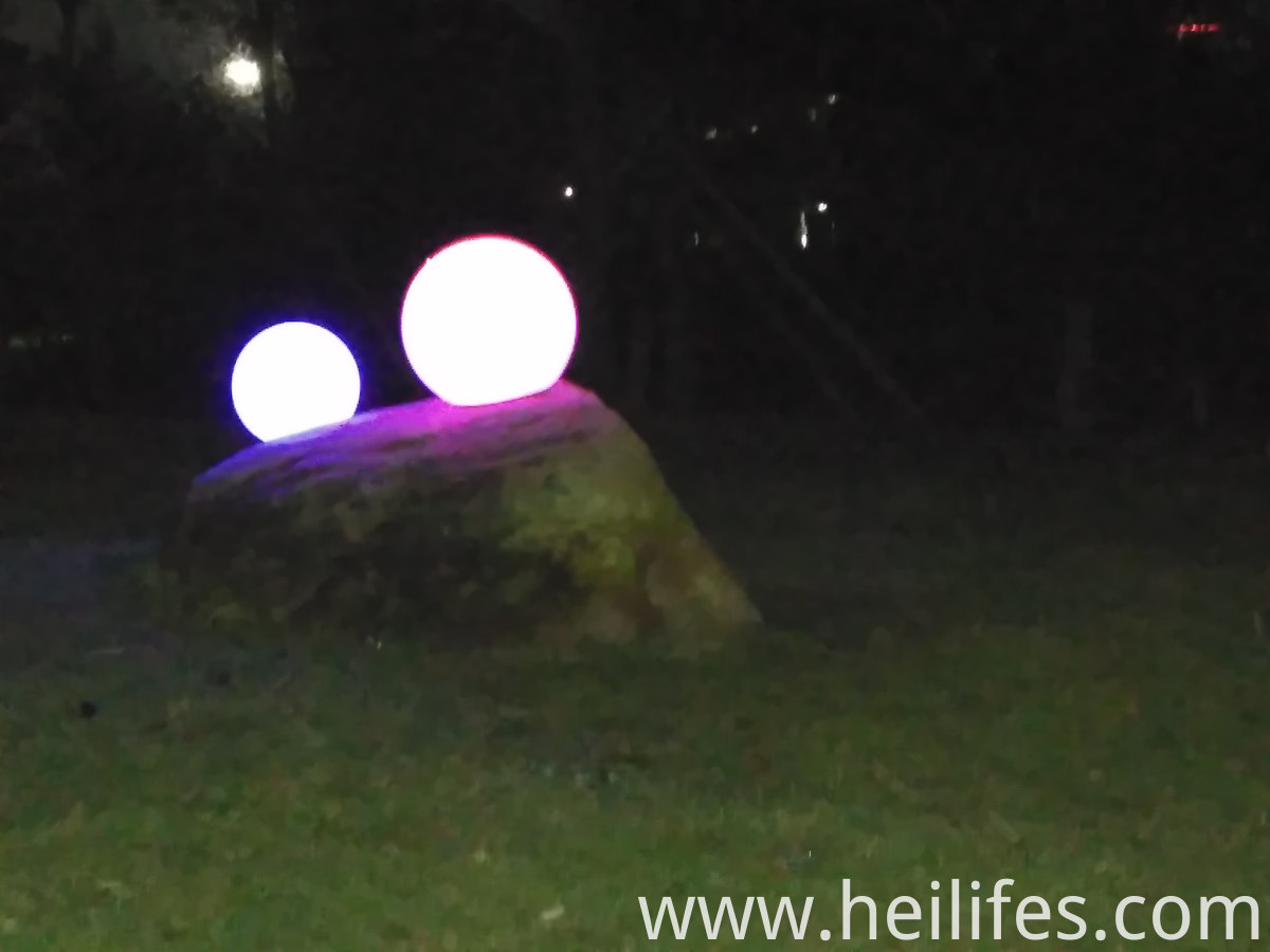 LED Night light in Garden