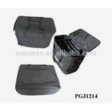 bolsa de herramientas 600D impermeable con compartimentos ajustables dentro de