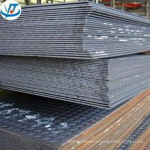 China Tianjin A36 Q235B S275 SS400 antiderrapante Checkered MS chapa de aço carbono