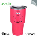 30oz Deluxe Double Wall 18/8 vaso de acero inoxidable