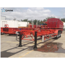 Skeleton Container Semi Trailer Shipping Container