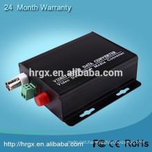 2017 OEM/ODM 1 Channel mini video fiber optical transmitter and receiver Forward/ Reverse Audio tv video converter box