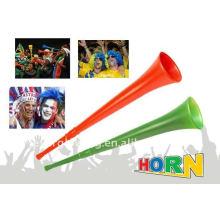 chifre de plástico vuvuzela para jogo de futebol