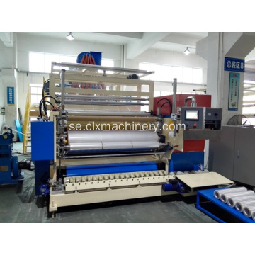 Stretch Film Production LLDPE Stretch Film Extruder
