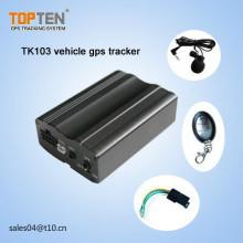 Auto Geo-Zaun Alarm, mit SIM-Karte, Motor abgeschnitten, Tür öffnen Alarm, kostenlos APP Tk103-Ez