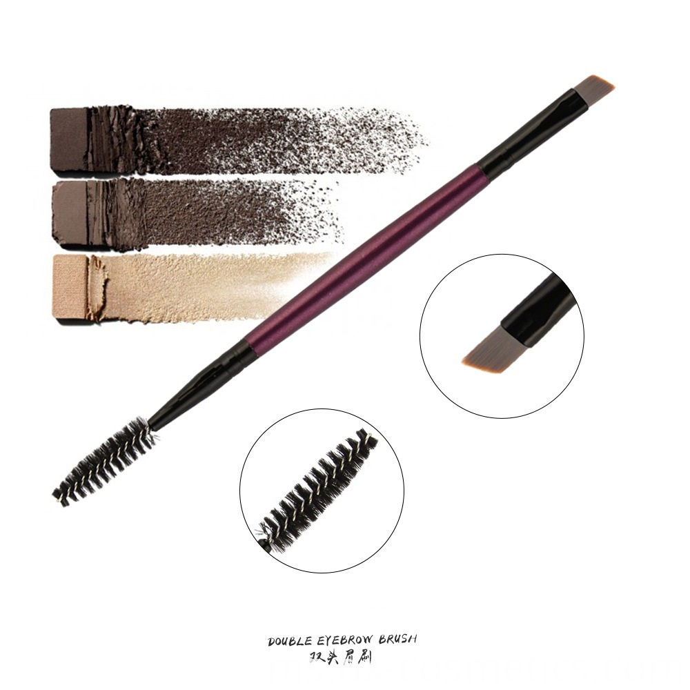 Double Head Eyebrow Makeup Brush 4