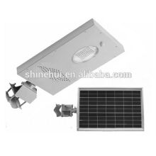 2015 producto insignia de la estación 12w precio de la luz de calle solar con IP65 CE aprobado