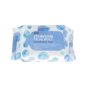Feminine Facial Makeup Remover Wipes Cleansing Wet Wipes