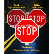 Printable Adhesive Reflective Sheeting Rolls/ Reflective Traffic Sign Material