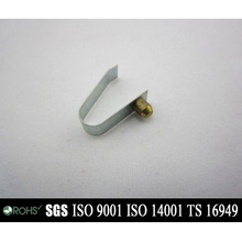 Customized Auto / Motorcycle Parts Flat Metal Spring Clip