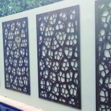 Laser Cut Metal Fence Panels