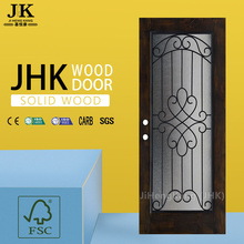 JHK Sale Old Wood Design Frame Porte interne in vetro