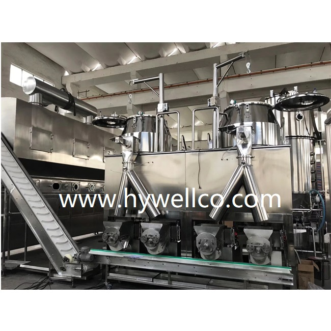 GHL super mixing granulator